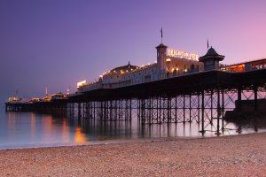 Brighton Pier at Dusk